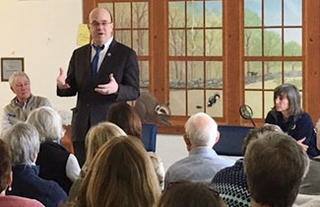 Congressman McGovern at BMB