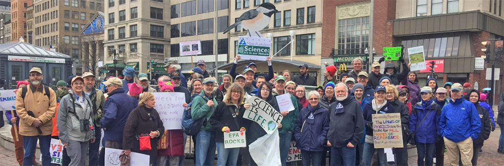 Mass Audubon at the March for Science Boston