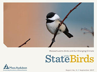 State of the Birds 2017 cover - Black-capped chickadee © Bill Thompson, USFWS