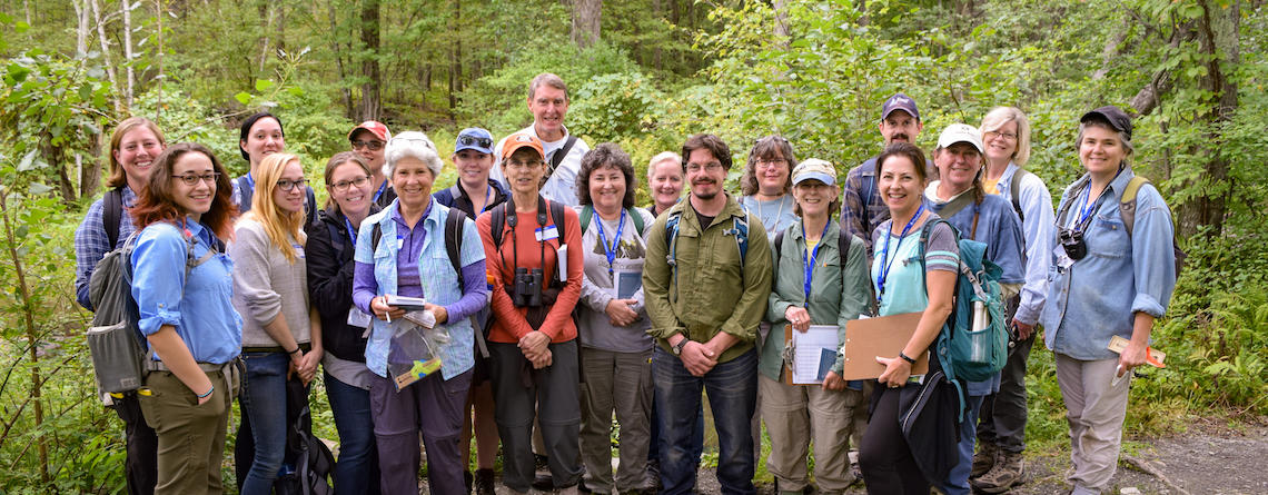 Group of adults that were in the Field Naturalist program