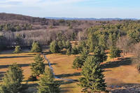 Aerial view of newly-protected former golf course in Northampton
