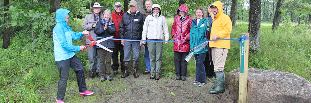 Rough Meadows Wildlife Sanctuary opening © Tooey Rogers
