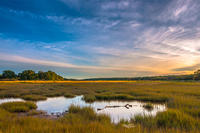 Sunrise over marsh © Mark Goulding
