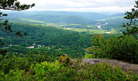 The view from the ledges
