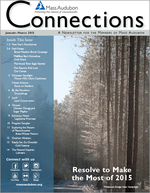Winter 2015 issue of Mass Audubon Connections Magazine