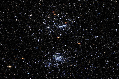 Double Cluster in Perseus © Andy Galasso