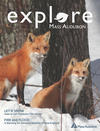 Cover of Explore Winter 2018 issue (Photo © Barbara Gaskin)