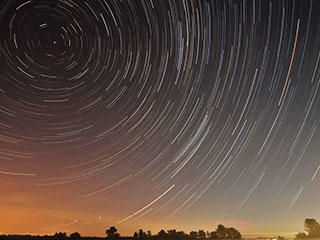 MiddleBoro Star Trails © Mike McCabe