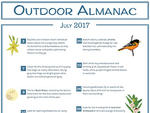 Outdoor Almanac Summer 2017 July