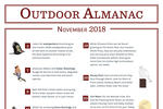 Outdoor Almanac - Fall 2018 - November