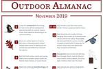 Outdoor Almanac - Fall 2019 - November
