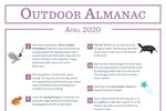 Outdoor Almanac - Spring 2020 - April