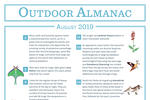Outdoor Almanac - Summer 2019 - August