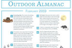 Outdoor Almanac - Winter 2019 - February