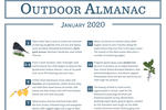 Outdoor Almanac - Winter 2020 - January