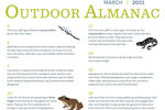 Outdoor Almanac - Winter 2021 - March