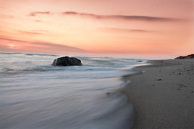 Sunrise over a Cape Cod beach © Jordan Kanes