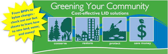Greening Your Community with Cost-Effective LID Solutions