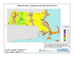Wind Speed Map