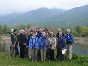 Northern Greece Mass Audubon tour group © Elissa Landre, Mass Audubon
