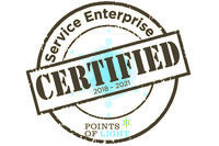 2018-2021 Certified Service Enterprise seal
