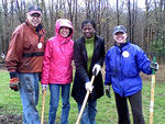 volunteers at Mass Audubon Statewide Volunteer Day