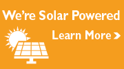 We're Solar powered. Learn More