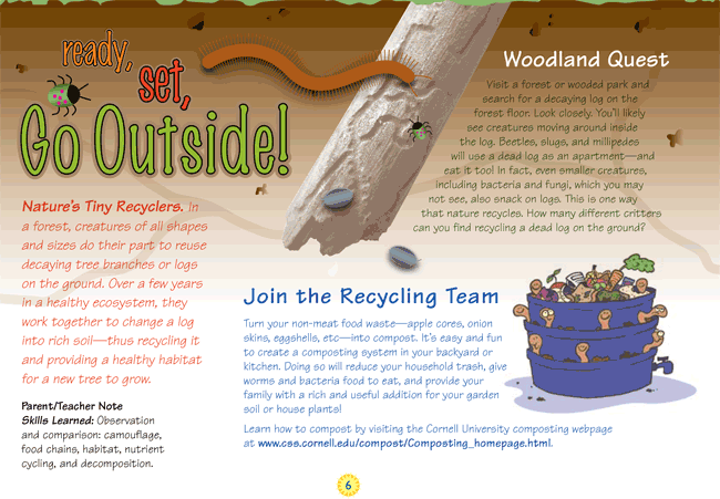 Recycling Activity Page