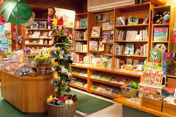Interior of the Audubon Shop