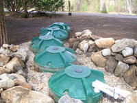 Smartstorm rainwater collection system at Habitat Education Center