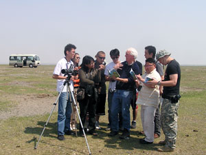 Mass Audubon & Nomadic Expeditions Guide Training in Mongolia