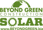 Beyond Green Construction Solar logo