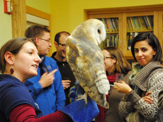 Birds and Brew event at Boston Nature Center