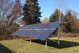 BNC ground-mounted PV array