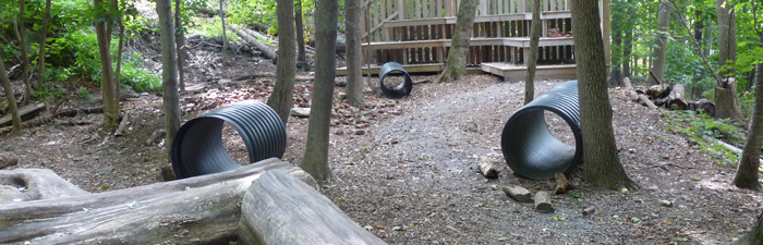 Nature Play Area at Broad Meadow Brook Wildlife Sanctuary