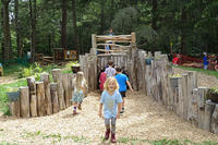 Broadmoor Nature Play coming and going