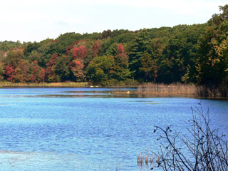 Burncoat Pond © Richard Johnson