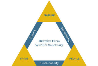 Drumlin Farm's three foundational pillars