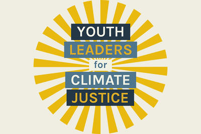 Youth Leaders for Climate Justice sunburst logo