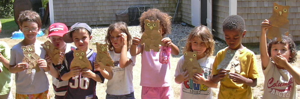 FN preschoolers with their owl masks