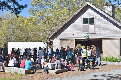 Students at Felix Neck's 2019 Youth Climate Summit