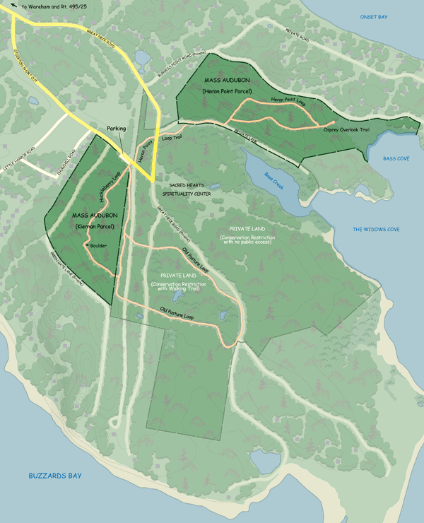 Great Neck Trail Map