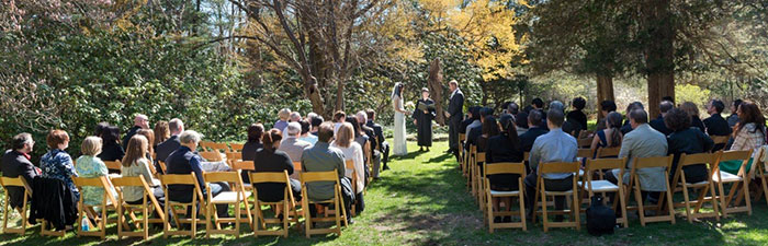 Outdoor wedding at Habitat © Anne Rearick