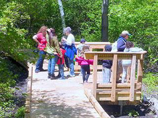 All persons trail at Mass Audubon Habitat Education Center
