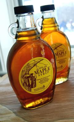 Bottes of Ipswich River Wildlife Sanctuary maple syrup