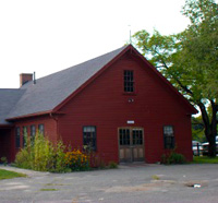 The barn at Ipswich River Wildlife Sanctuary