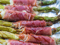 Asparagus and Prosciutto at Soiree 2016
