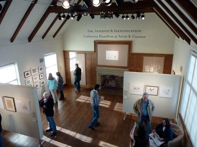 Gallery interior at the Museum of American Bird Art