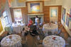 The  gallery at MABA set up for a private function