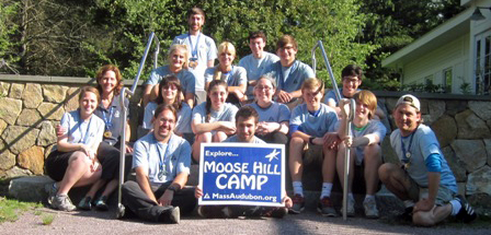 Moose Hill Camp staff in 2013